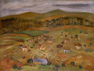 South African Landscape 1937