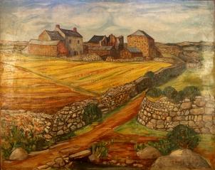 Farm with lane 1949