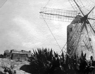 Ibiza windmill