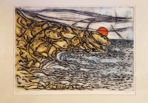 Headland colour etching