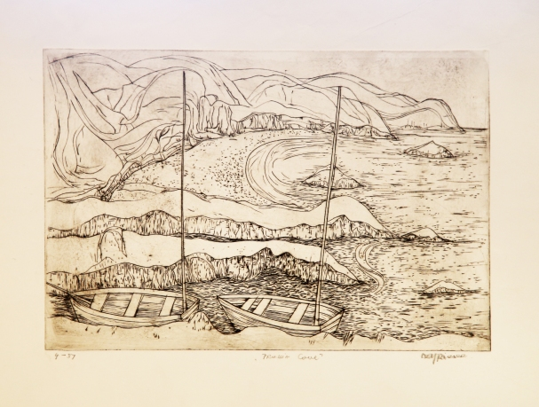 Prussia Cove engraving
