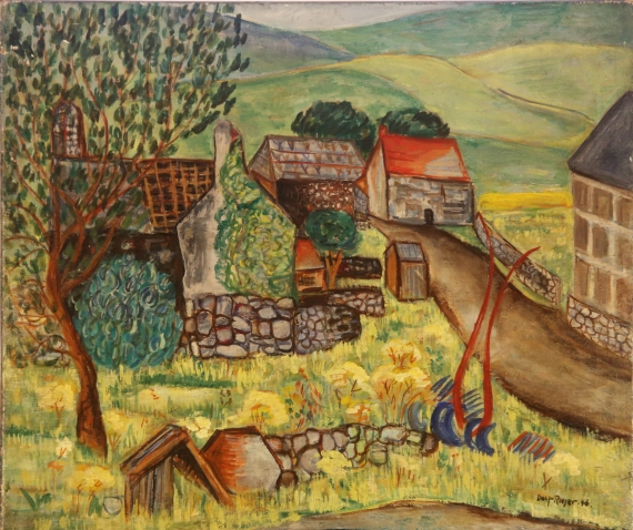 Cornish Farm 1948
