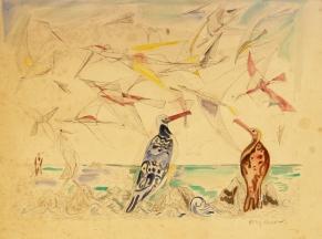 Birds of War colour proof 1940s