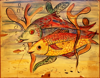 Fish watercolour