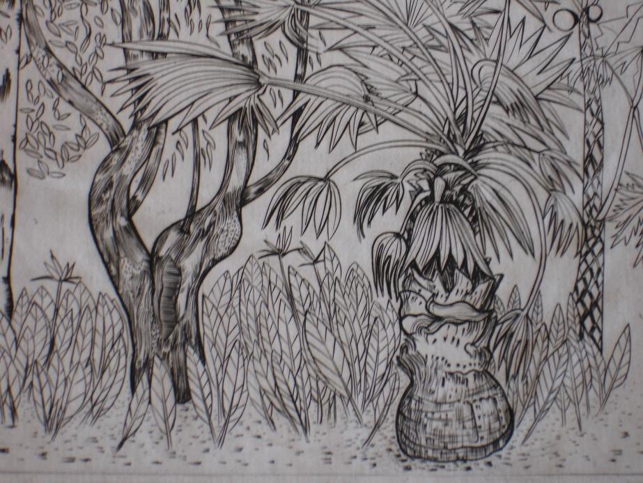African Flora Detail