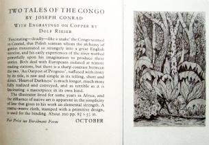 Tales of the Congo Folio Society