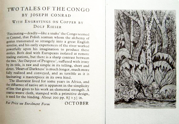 Tales of the Congo Folio Society