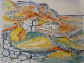 Oil sketch