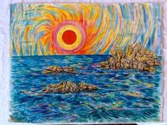Sunset-Watercolour